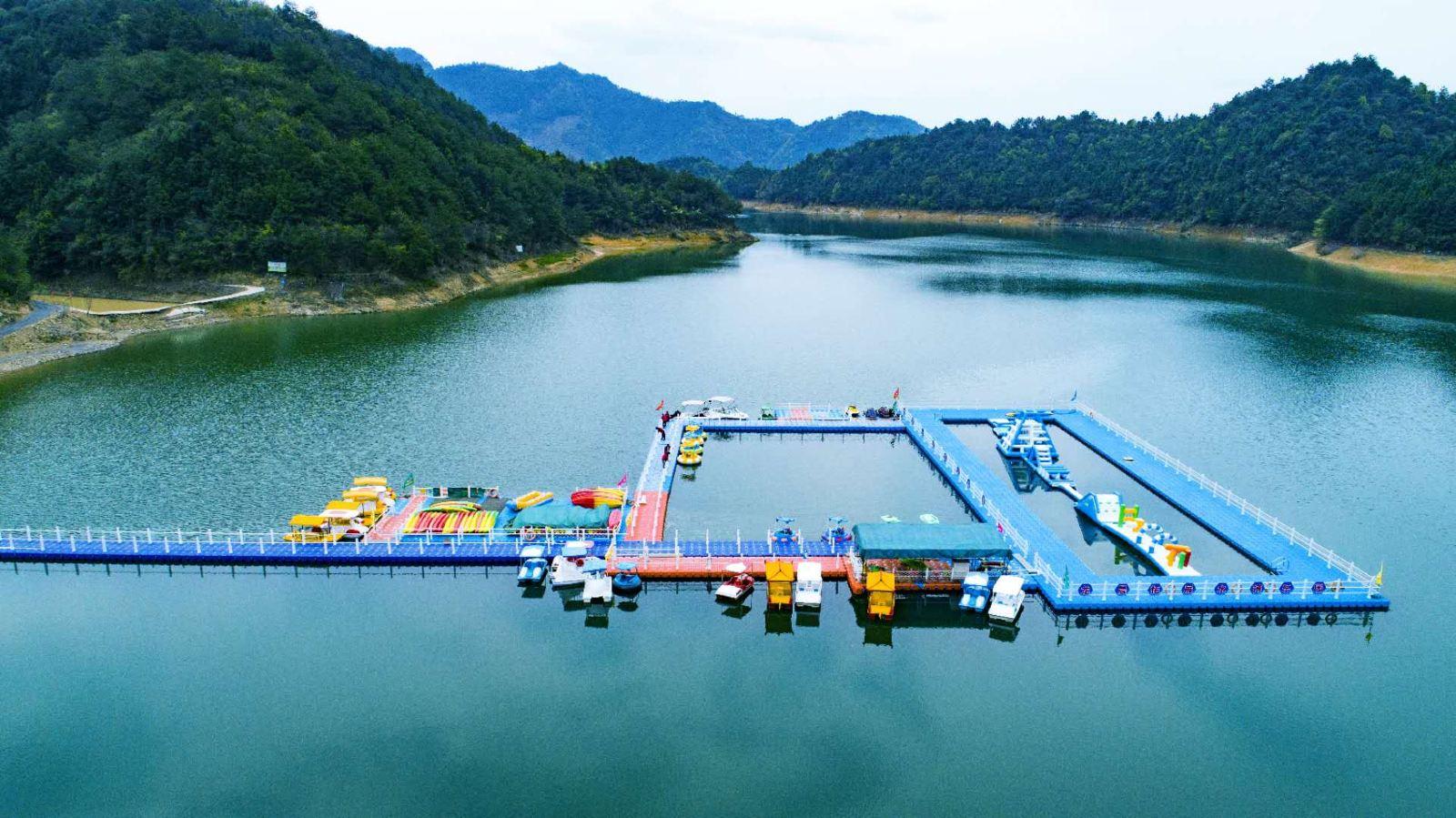 千岛湖龙晨拓展水搏乐园