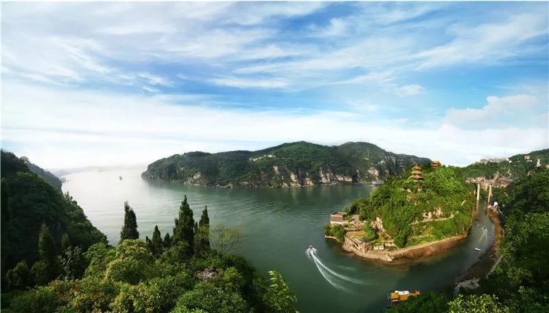 宜昌西陵峡风景区