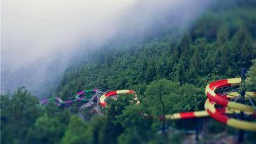 驷马水乡大峡谷