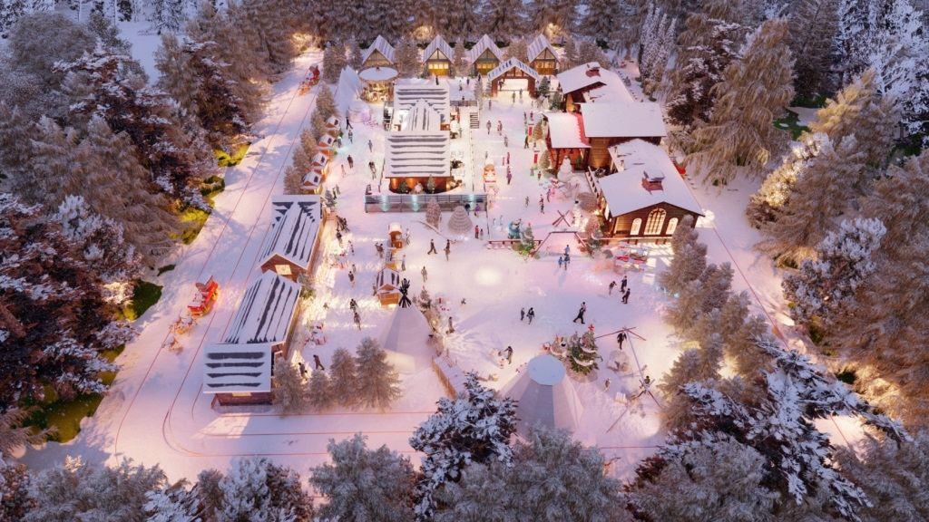 梅山冰雪大世界主题乐园