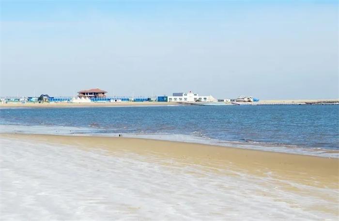 天津东疆湾沙滩景区