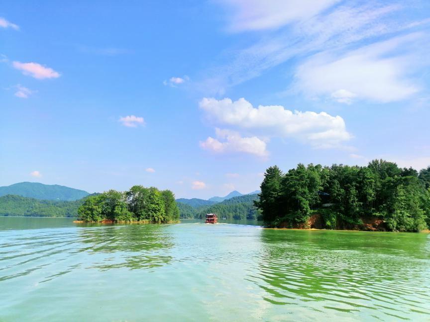 赣州阳明湖(原上犹陡水湖)景区