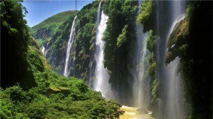 马岭河峡谷