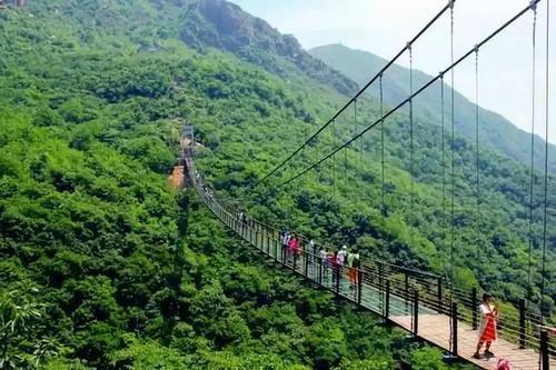 新密三泉湖景区(含凤凰玻璃吊桥)门票