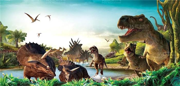 宝鸡封神文化主题乐园侏罗纪恐龙嘉年华