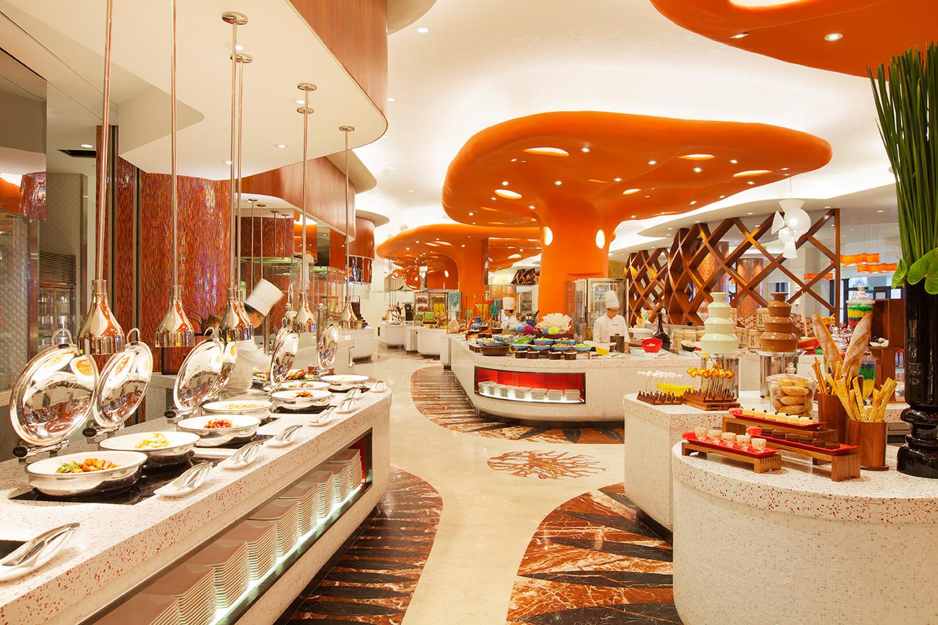 珠海长隆横琴湾酒店自助餐厅