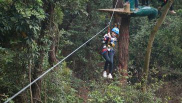 广西飞越丛林探险乐园