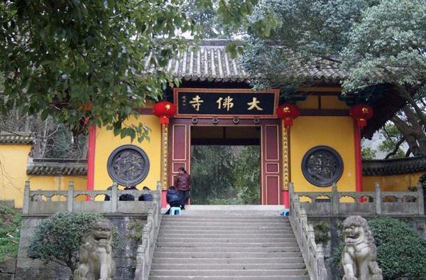新昌大佛寺景区