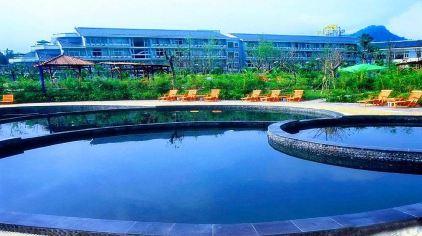 雅安周公山楠水阁温泉