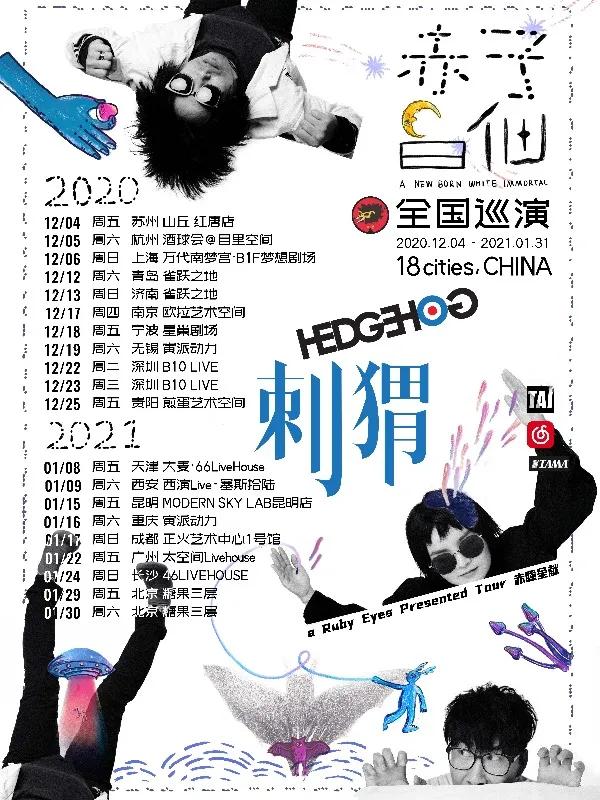 刺猬乐队青岛演唱会