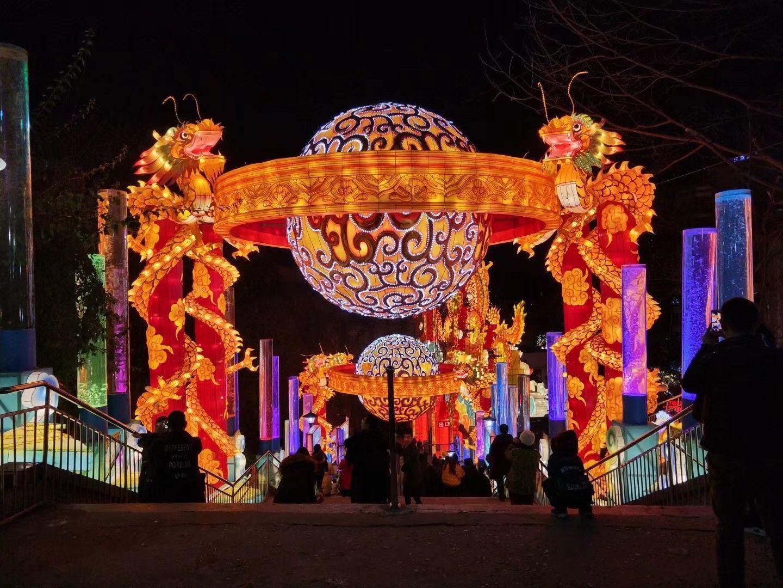 【自贡】彩灯公园动物园