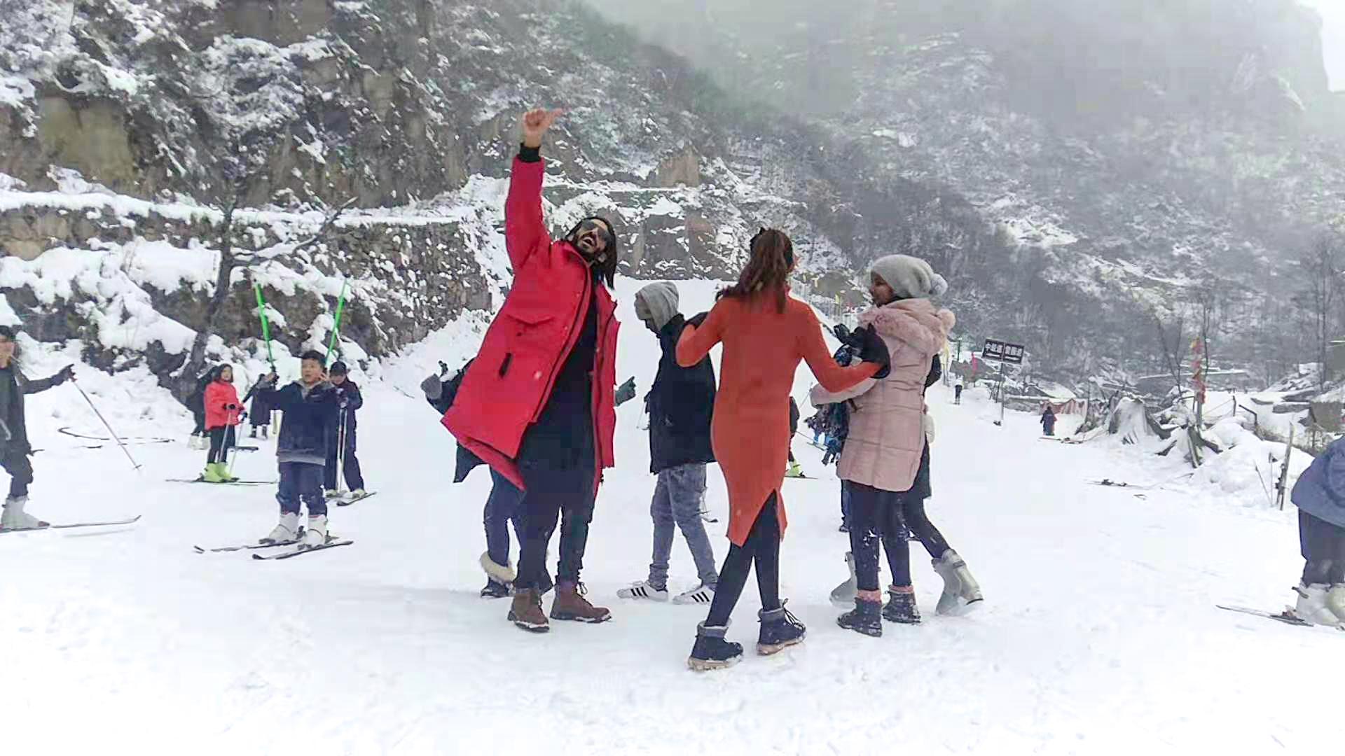 【新乡】香木河滑雪