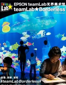 上海teamLab无界美术馆