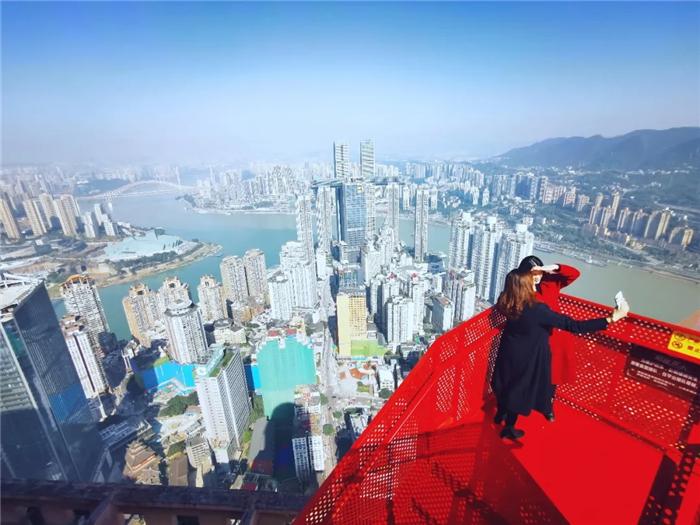 重庆之眼·长江索道高空观景台