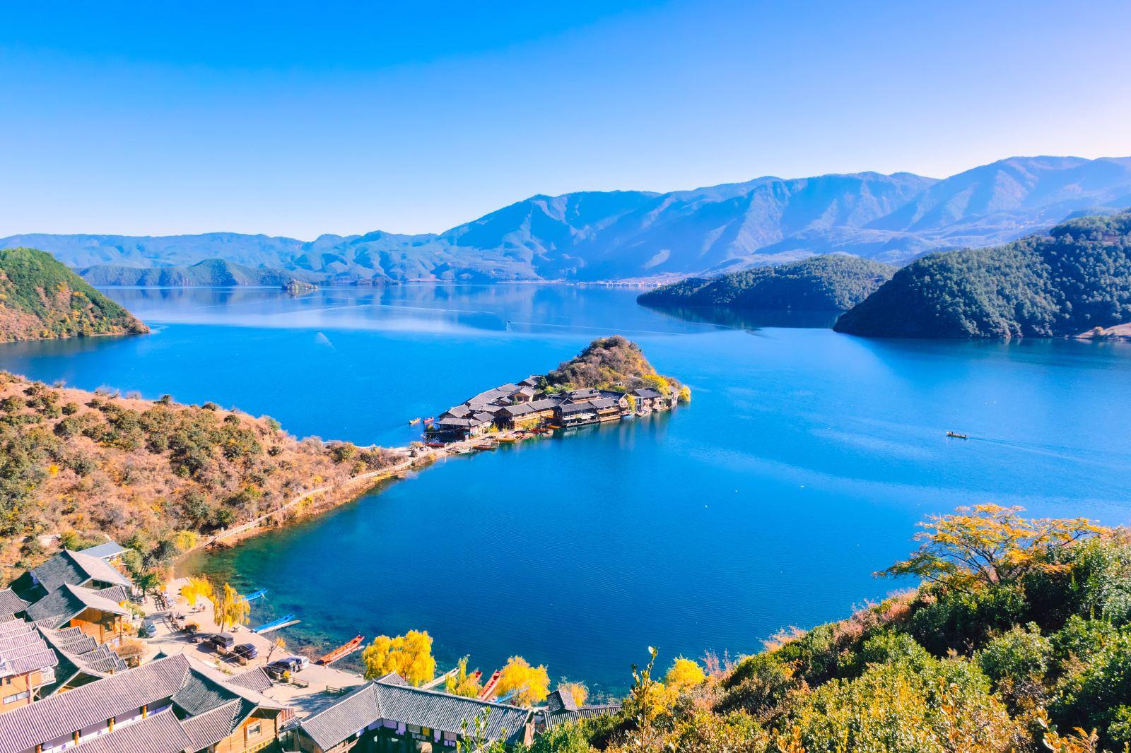 泸沽湖景区