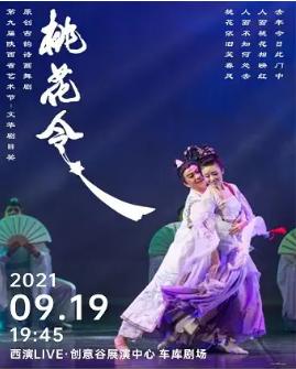 舞劇《桃花令》西安站