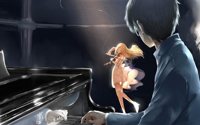 《四月是你的谎言》钢琴小提琴杭州站