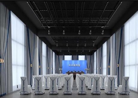 焦作市融媒体文化科技产业园聚焦厅